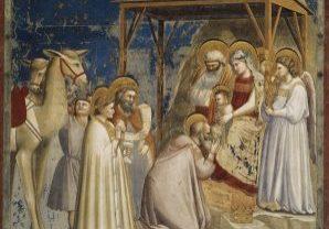 Giotto Di Bondone No. 18 Scenes From The Life Of Christ 2. Adoration Of The Magi WGA09195